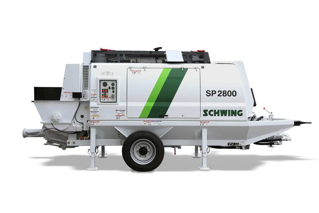SP 2800 D SCHWING stacionarni cerpadlo
